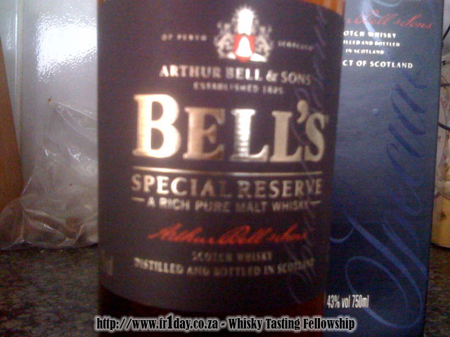 Bell's Special Reserve - A Rich Pure Malt Whisky