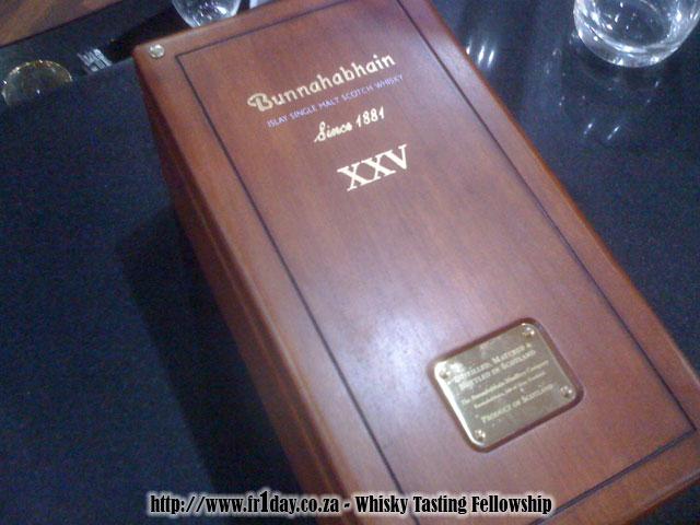 Bunnahabhain 25 Presented in Wooden Case