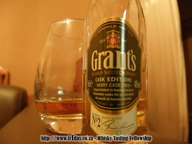 Grant's Sherry Cask Finish Whisky