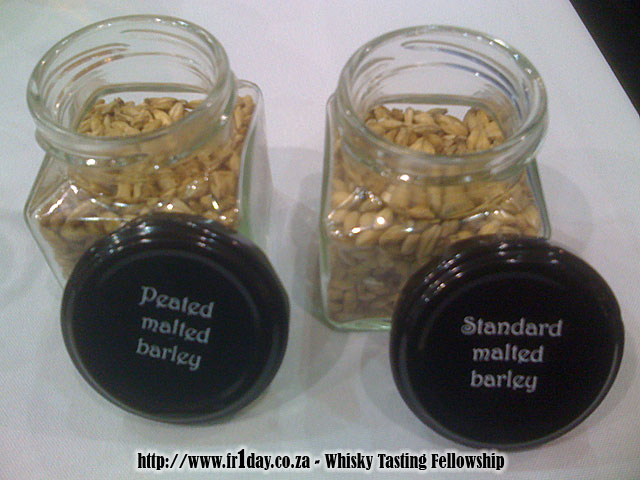 Peated and Standard Malted Barley
