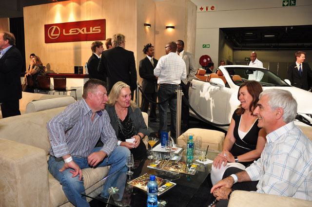 Whisky Live 2010 - Relaxing in the Lexus Whisky Lifestyle Lounge