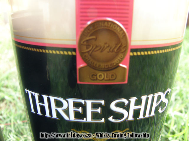 Three Ships Bourbon Cask Finish - Gold Award - ISC 2010