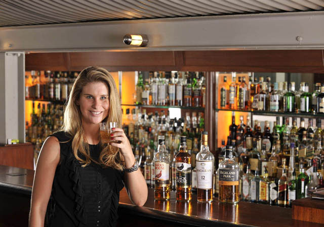 Candice Baker - brand ambassador for the Edrington Portfolio of Whiskies in SA
