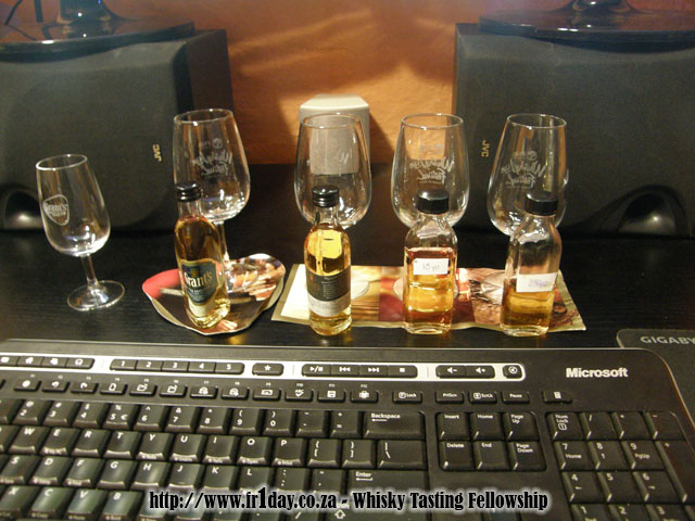 Grant's Twitter tasting whisky line-up