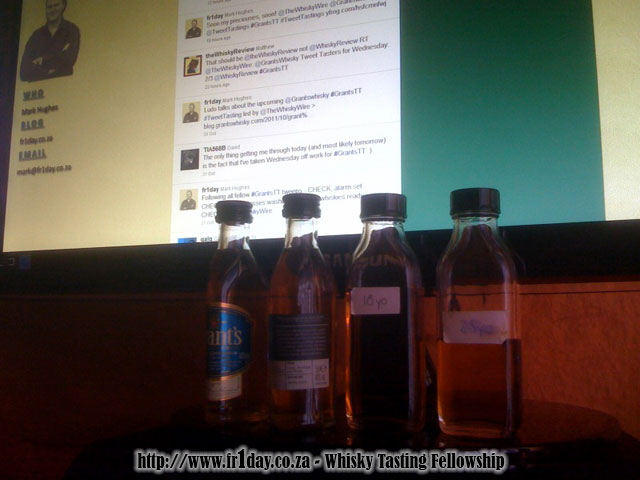 Grant's whisky and Twitter