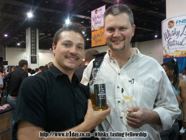 Jason from Liquidity with Springbank 18 and me
