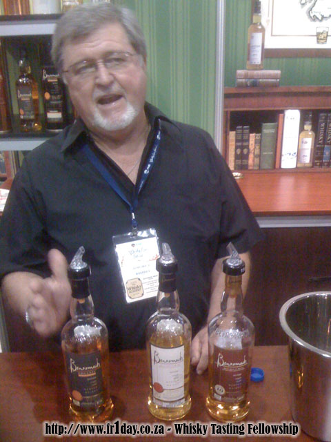 Jonathan Miles talking about Benromach whiskies