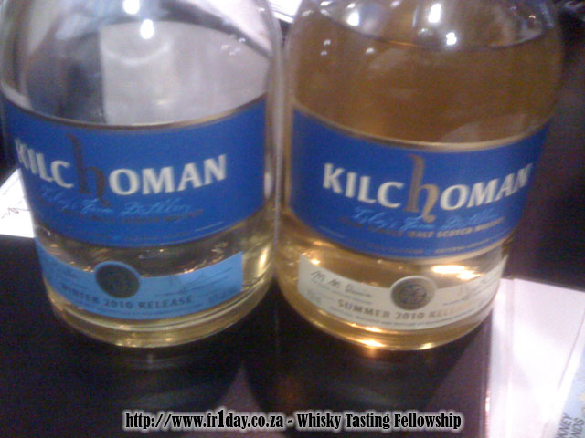 Kilchoman Summer and Winter 2010 releases