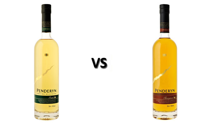 Penderyn Peated vs Penderyn Sherrywood