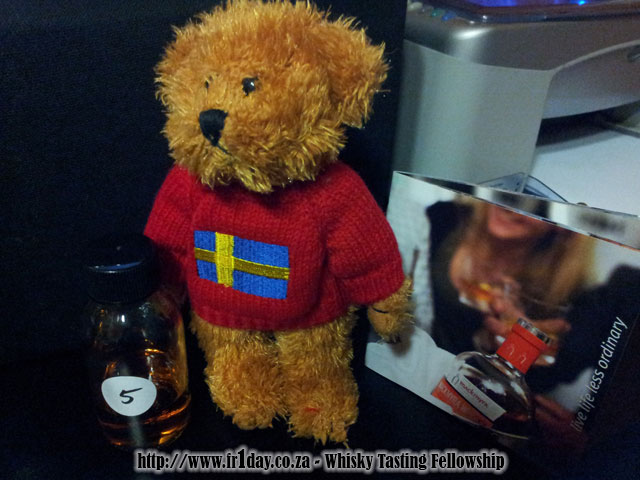 Lars the Bear and 'his' Mackmyra sample