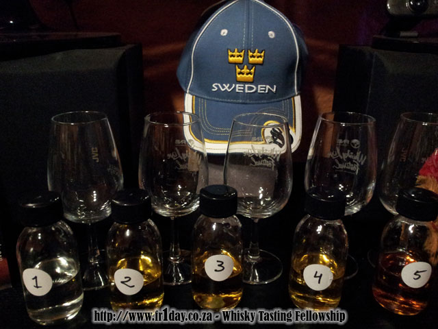 #MackmyraBlind whisky samples