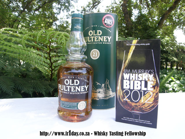 Old Pultney 21, Jim Murray's Whisky Bible 2012 Winner