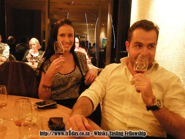 Guests enjoying the Bunnahabhain evening