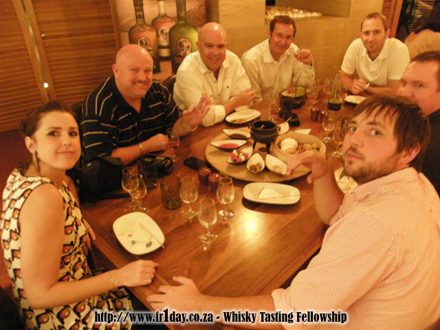 Guests of the Whisky Tasting Fellowship