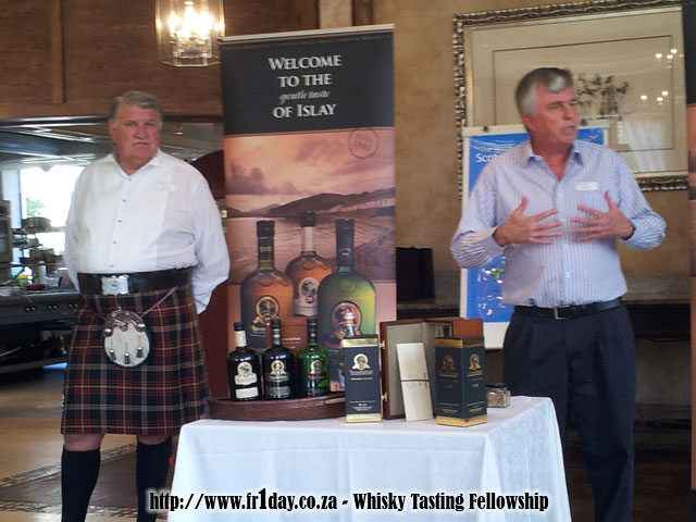 Bunnahabhain's Pierre Meintjes and Brian Glass
