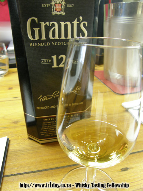 Grant's 12 Year Old premium blended whisky