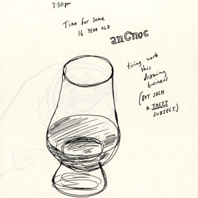 anCnoc Drawings by Peter Arkle - It's anCnoc Time