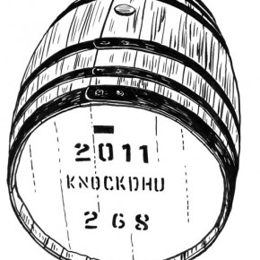 anCnoc Drawings by Peter Arkle - anCnoc Cask