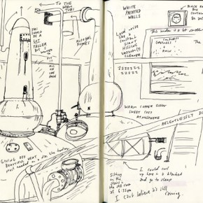 anCnoc Drawings by Peter Arkle - Stillhouse