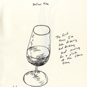 anCnoc Drawings by Peter Arkle - Draw, Drink & Pose