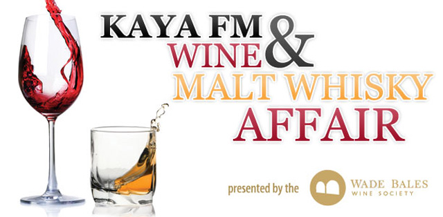 Kaya FM Wine & Malt Whisky Affair presented by the Wade Bales Wine Society