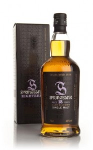 Springbank 18 Year Old Whisky