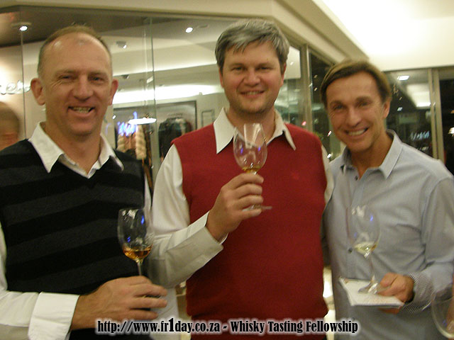 The Whisky (Hector) and Wine (Wade) Organisers With Me In-between