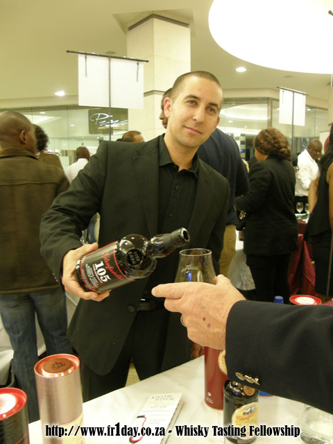 Whisky Brother, Marc Pendlebury, Pouring a Glenfarclas 105