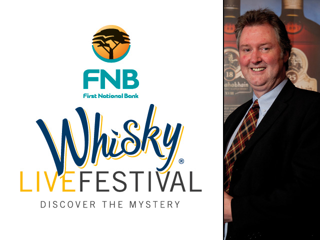 Whisky Live 2012 with Ian MacMillan