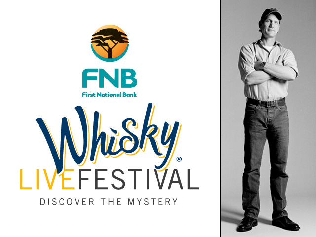 John Glaser from Compass Box will be at the FNB Whisky Live Festival