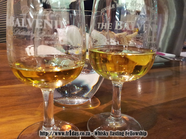 Balvenie 12 and 15 year olds