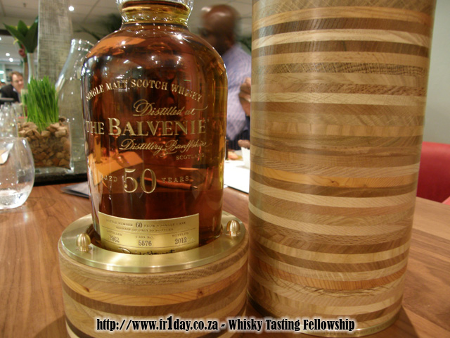 Balvenie 50 - a classic example of beautiful craftsmanship