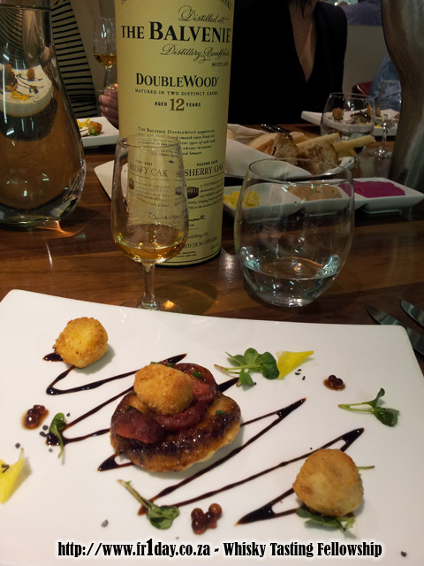 Great food and great whisky