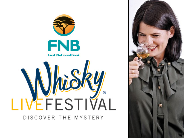 FNB Whisky Live 2012 with Karen Fullerton