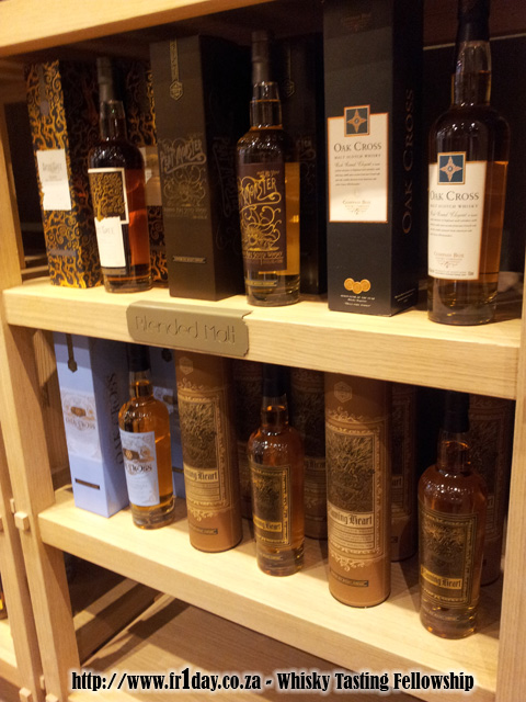 Compass Box Flaming Heart on WhiskyBrother shelves