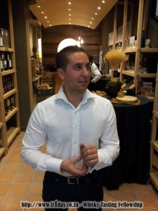 WhiskyBrother owner, manager and storekeeper - Marc Pendlebury