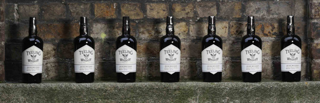 Teeling Whiskey - Lined Up and Ready