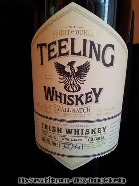 Teeling Whiskey - Small-Batch, Rum Cask Finish