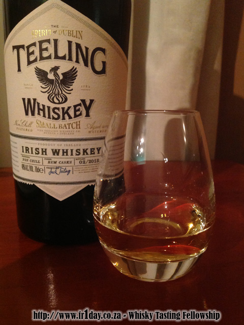Tasting the new Teeling Whiskey