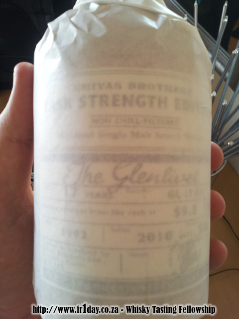 Chivas Brothers Cask Strength Edition - The Glenlivet 17 year old