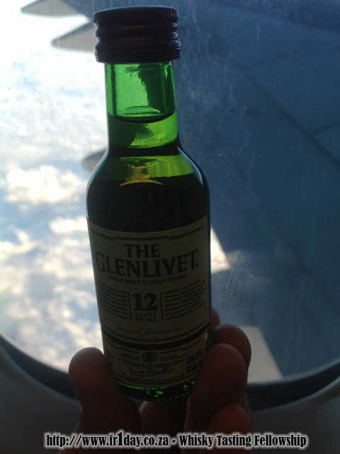 The Glenlivet 12 at 30,000 feet