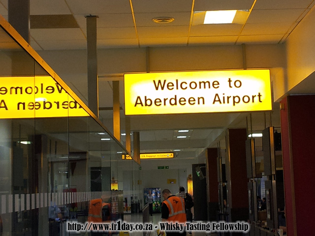 Welcome to Aberdeen Airport