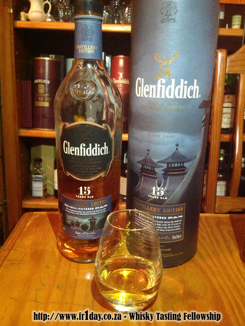 Glenfiddich Distillery Edition 15 year old