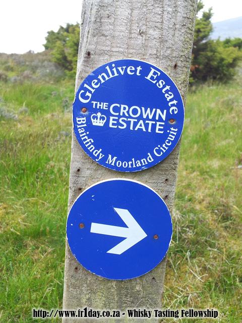 Walking through The Glenlivet Estate