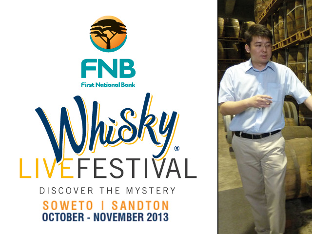 Kavalan's master blender, Ian Chang, is coming to the 2013 FNB Whisky Live Festival