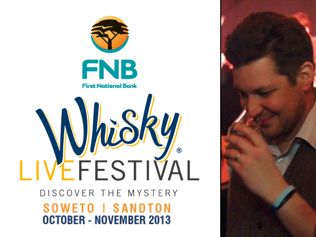Whisky Magazine's Rob Allanson will be hosting workshops at the 2013 FNB Whisky Live Festival