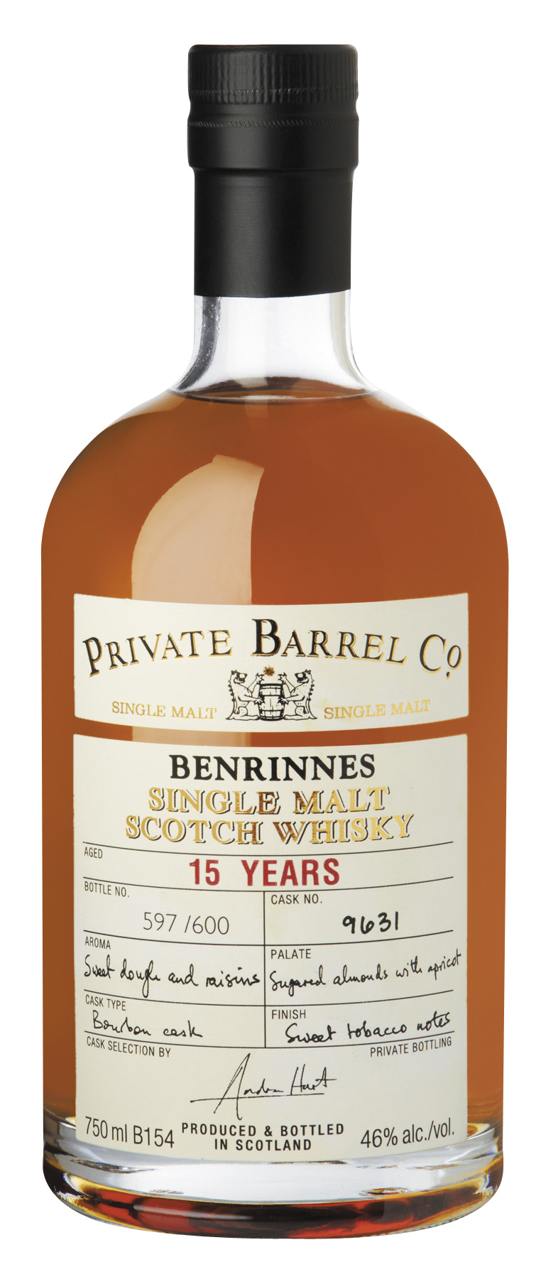 Benrinnes 15yo - Private Barrel Co