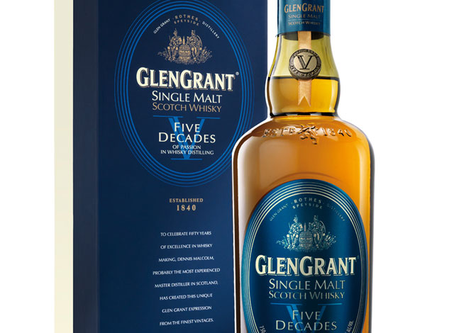 Glen Grant Five Decades close-up