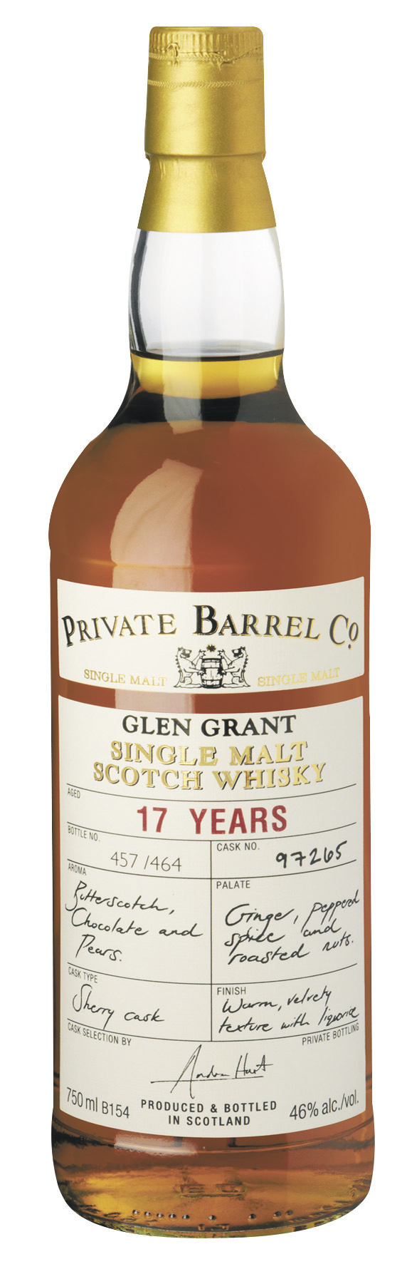 Glen Grant 17yo - Private Barrel Co