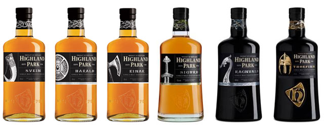 The Highland Park Warrior Series, available in travel retail